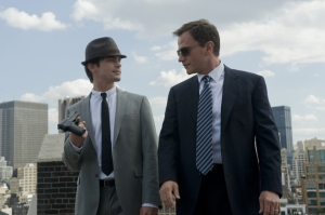 "WHITE COLLAR -- ""Promo"" --  Pictured: (l-r) Matthew Bomer as Neal Caffrey, Tim DeKay as Peter Burke -- USA Network Photo: David Giesbrecht"
